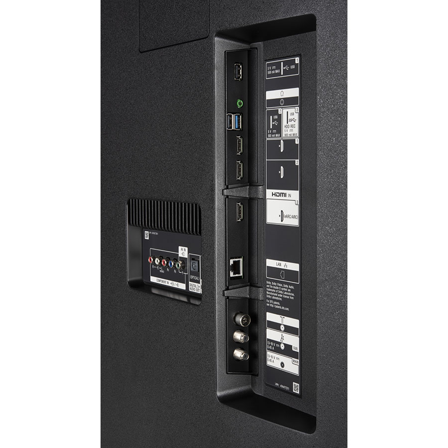 Sony KD-65XG8505 - Connectique