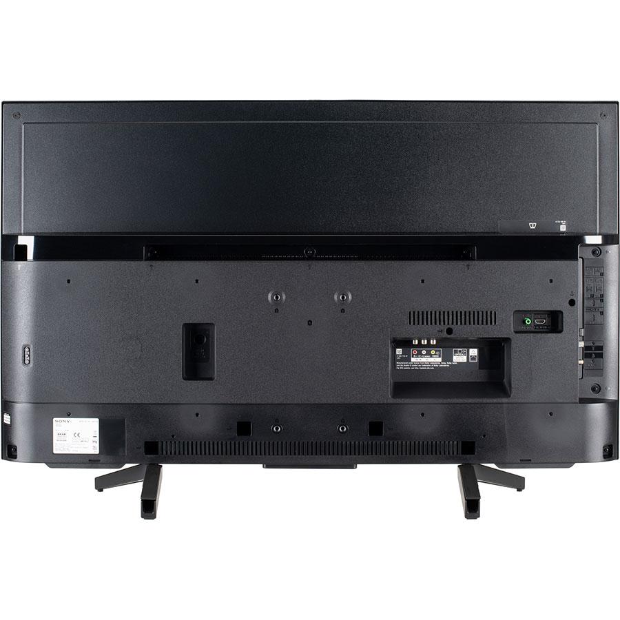 Sony KD43XF7096BAEP - Vue de dos