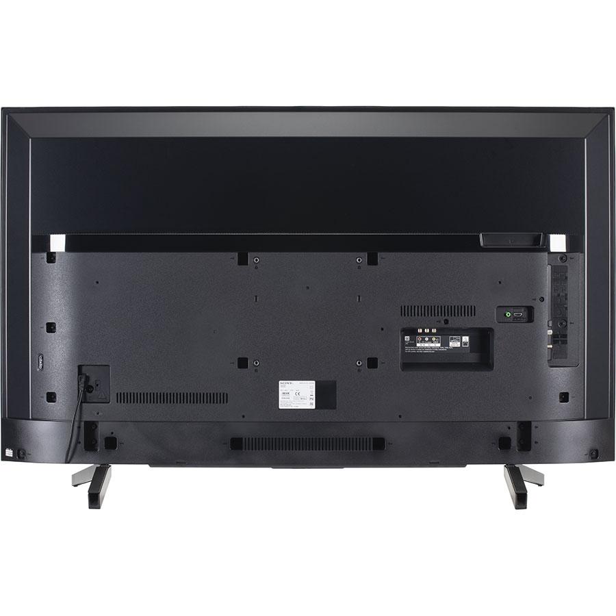 Sony KD55XF7096BAEP - Vue de dos