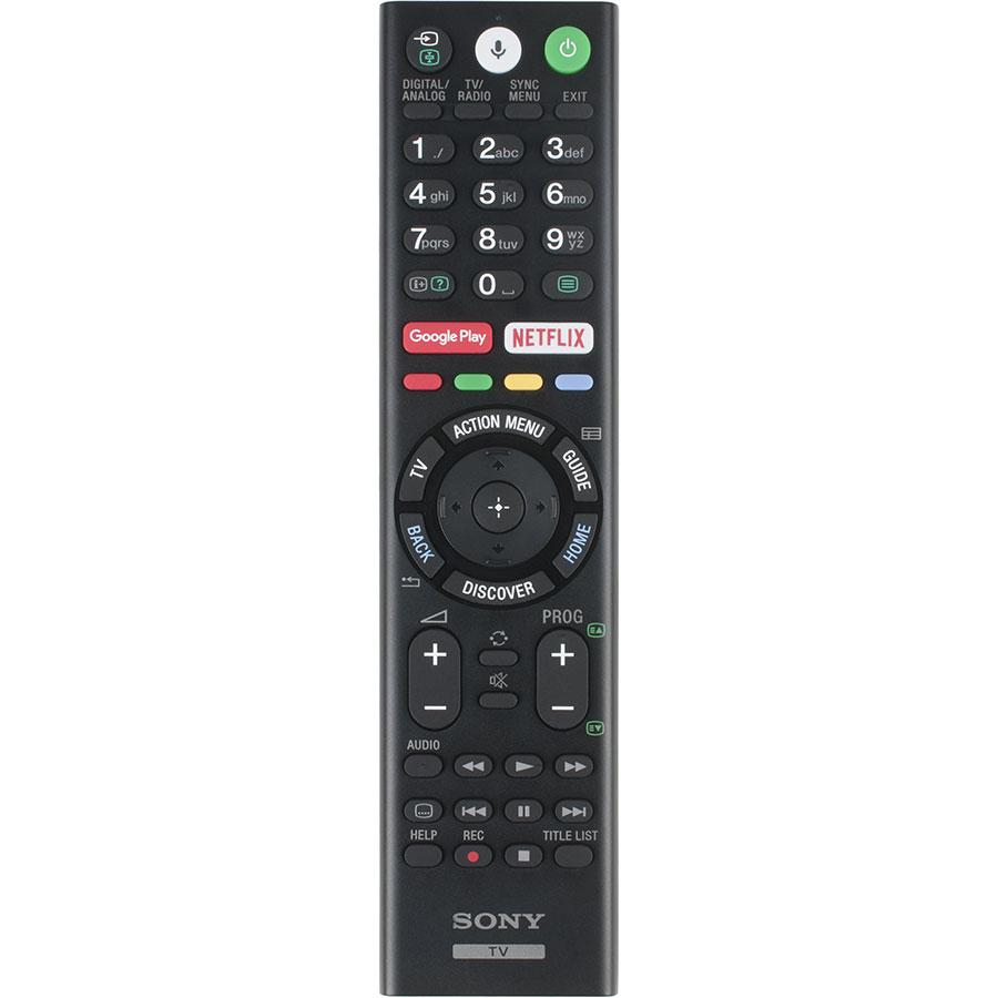 Sony KD-65XE8505 - Télécommande