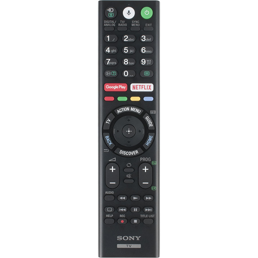 Sony KD-65XE8596BAEP - Télécommande