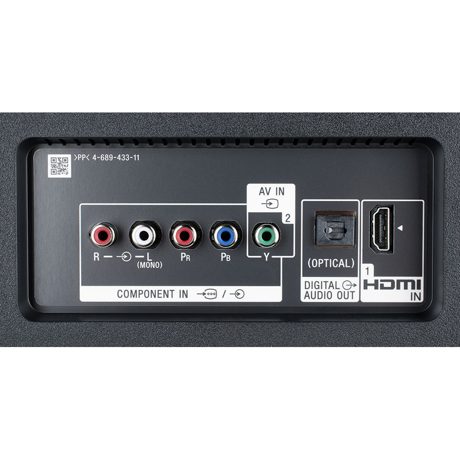 Sony KD-65XE8596BAEP - Connectique