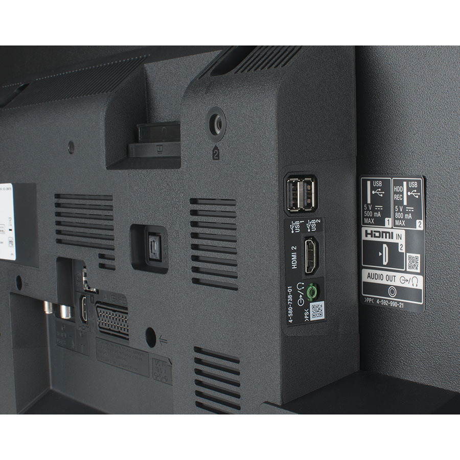 Sony KDL-32WD750BAEP - Connectique