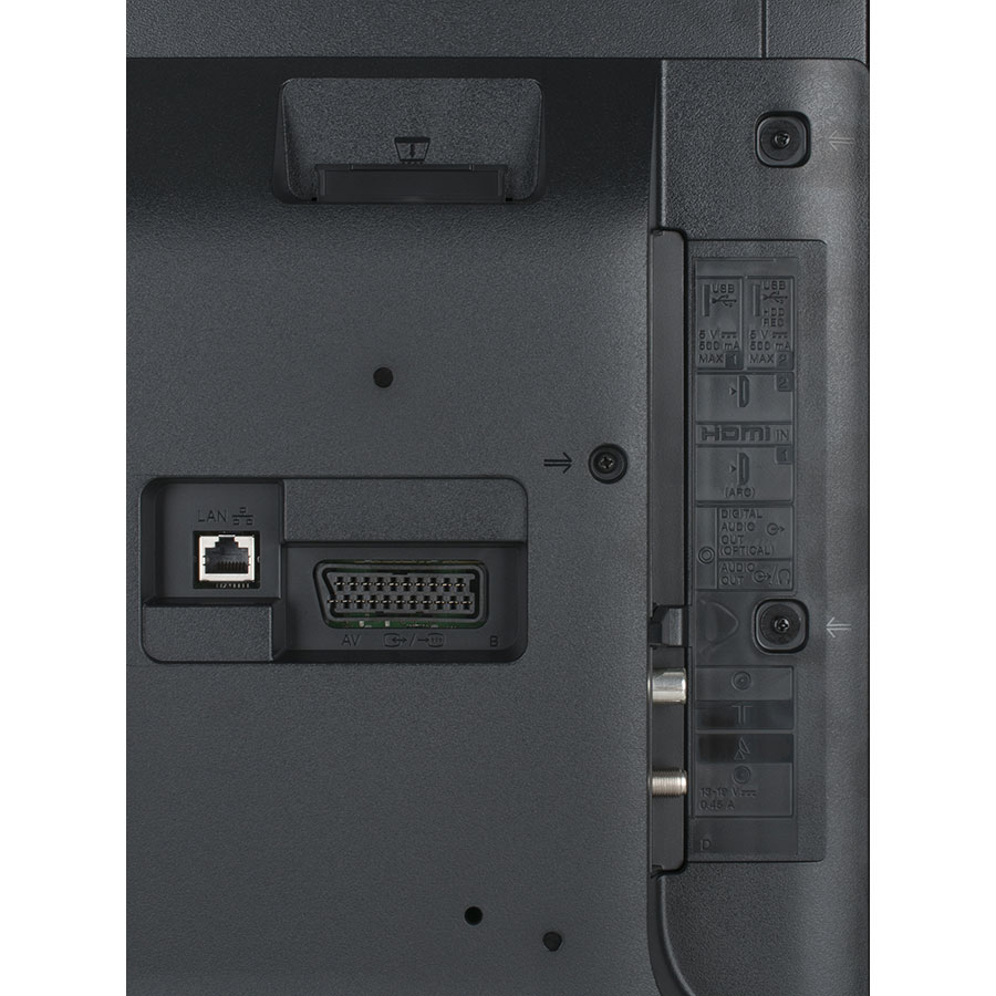 Sony KDL-40WE660BAEP - Connectique
