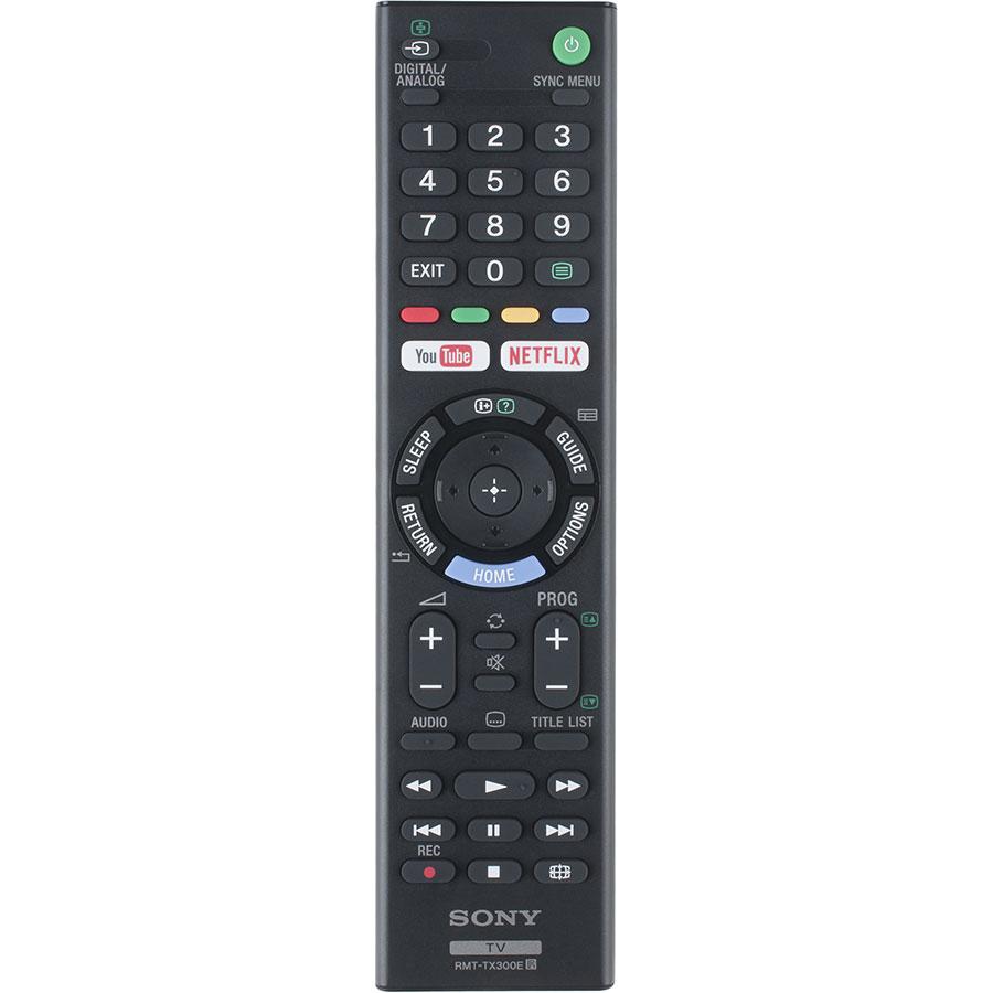 Sony KDL-49WE660BAEP - Télécommande