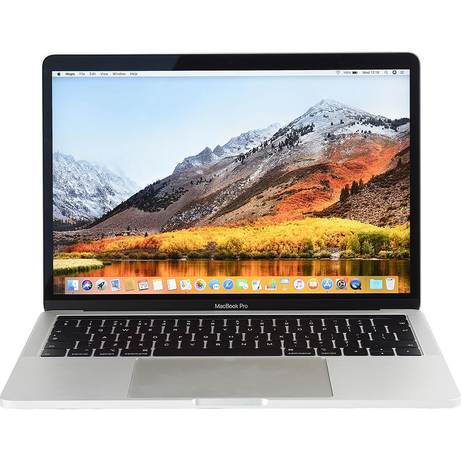 Apple MacBook Pro 13 pouces avec Touch Bar (2018) - Vue de face
