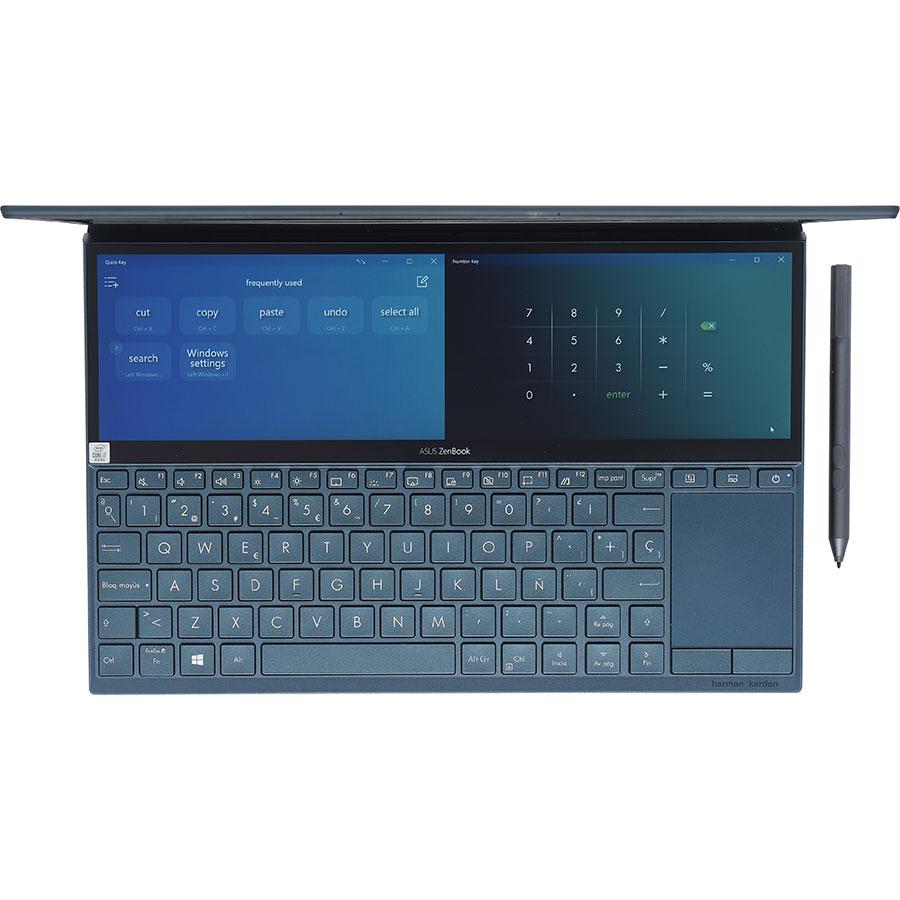 "Asus Zenbook Duo UX481FL - Écran secondaire Asus ScreenPad""! Plus"