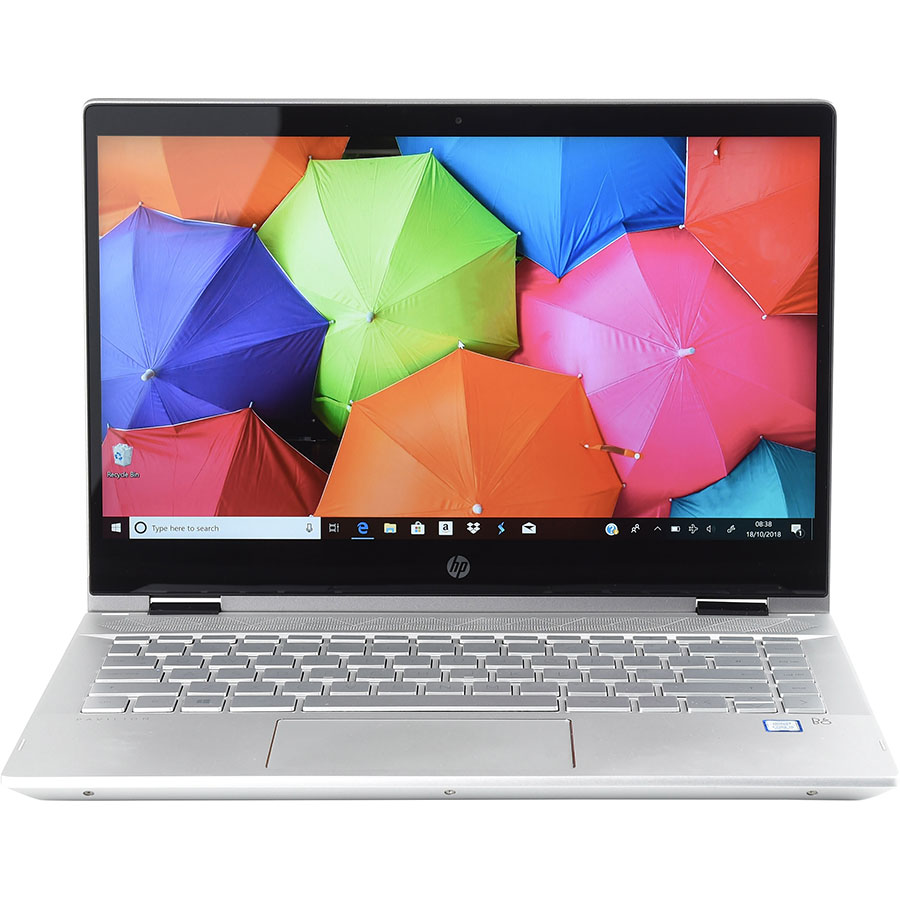 HP Pavilion x360 14 (cd0001nf) - Vue de face