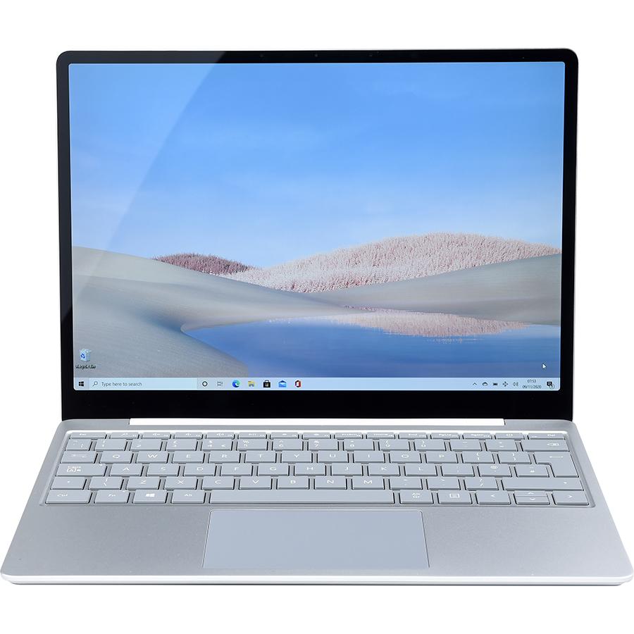 Microsoft Surface Laptop Go (2020, 64 Go) - Vue de face