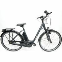 Cube Town Hybrid One 400 - Dérailleur dans le moyeu arrière, chaîne complètement protégée : le profil du parfait vélo de ville.