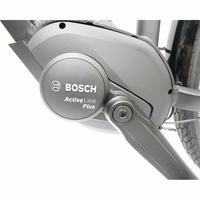 Haibike Sduro Trekking 1.0 - Le moteur dans le pédalier est un modèle Bosch Active Line Plus.