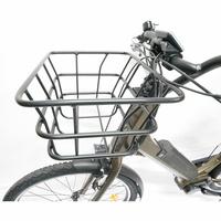 Nakamura E-City 150 - Un solide panier amovible est fourni avec le vélo.