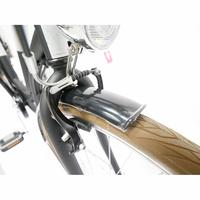 Nakamura E-City 50 - Garde-boue en acier et freins mécaniques V-Brake.