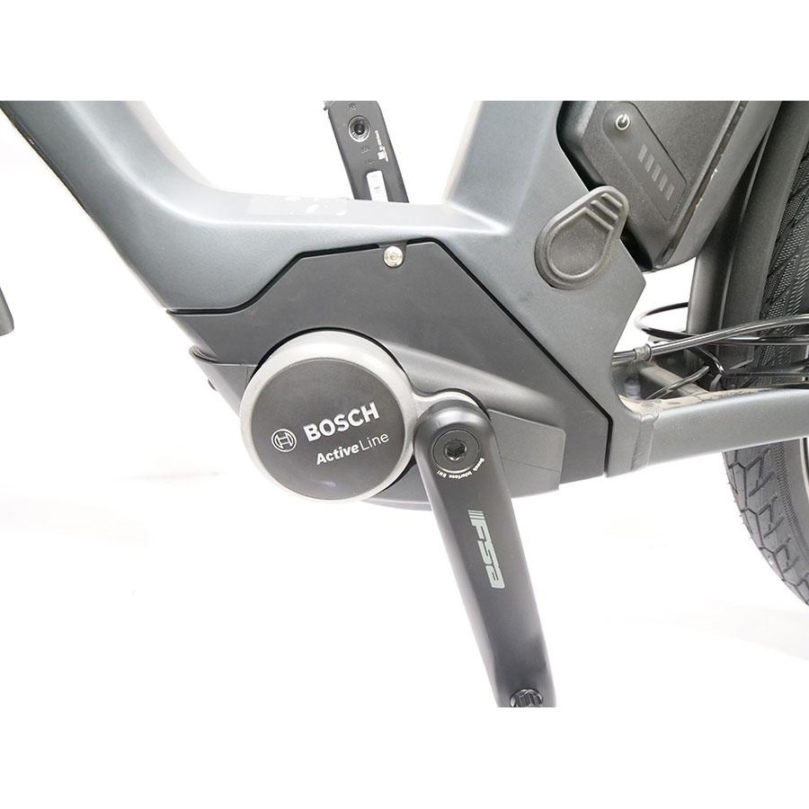 Cube Town Hybrid One 400 - Moteur Bosch Active Line dans le pédalier.