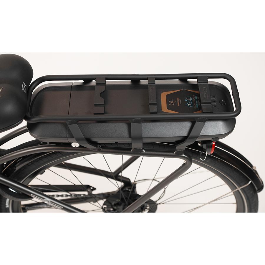 Feu Vert E-Roll 100 - Batterie située sous le porte-bagages