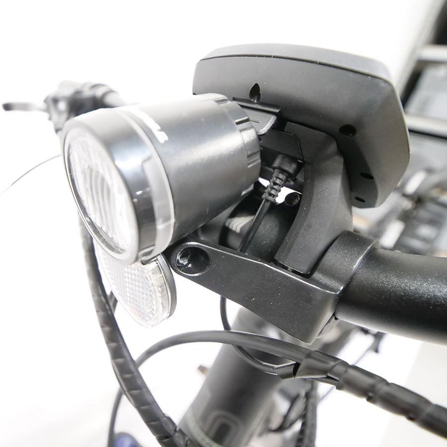 Haibike Sduro Trekking 1.0 - L'éclairage est alimenté par la batterie.