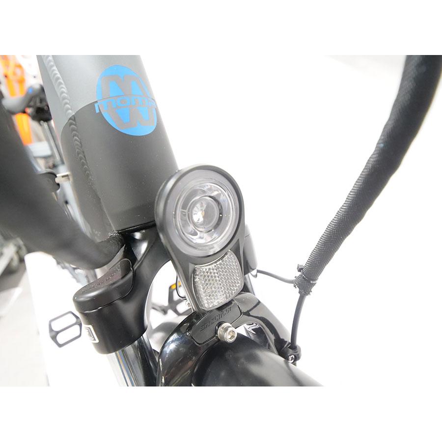 Moma Ebike 28 Pro - Éclairage alimenté par la batterie.