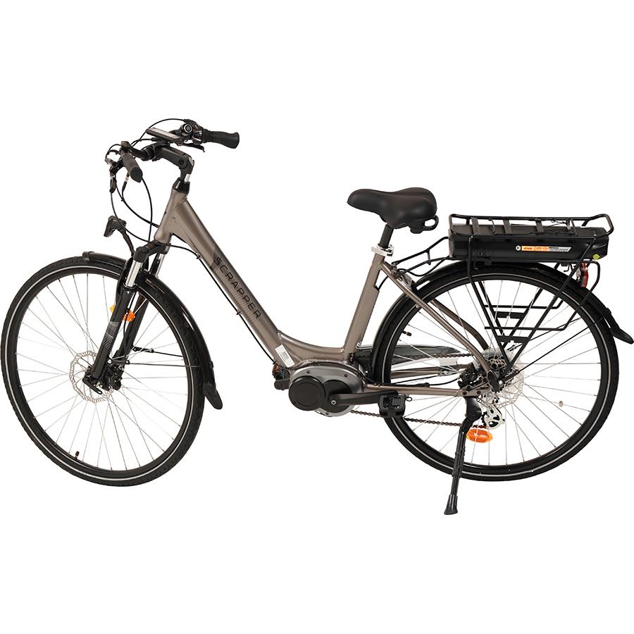 Scrapper E-Disk - Vélo en position parking