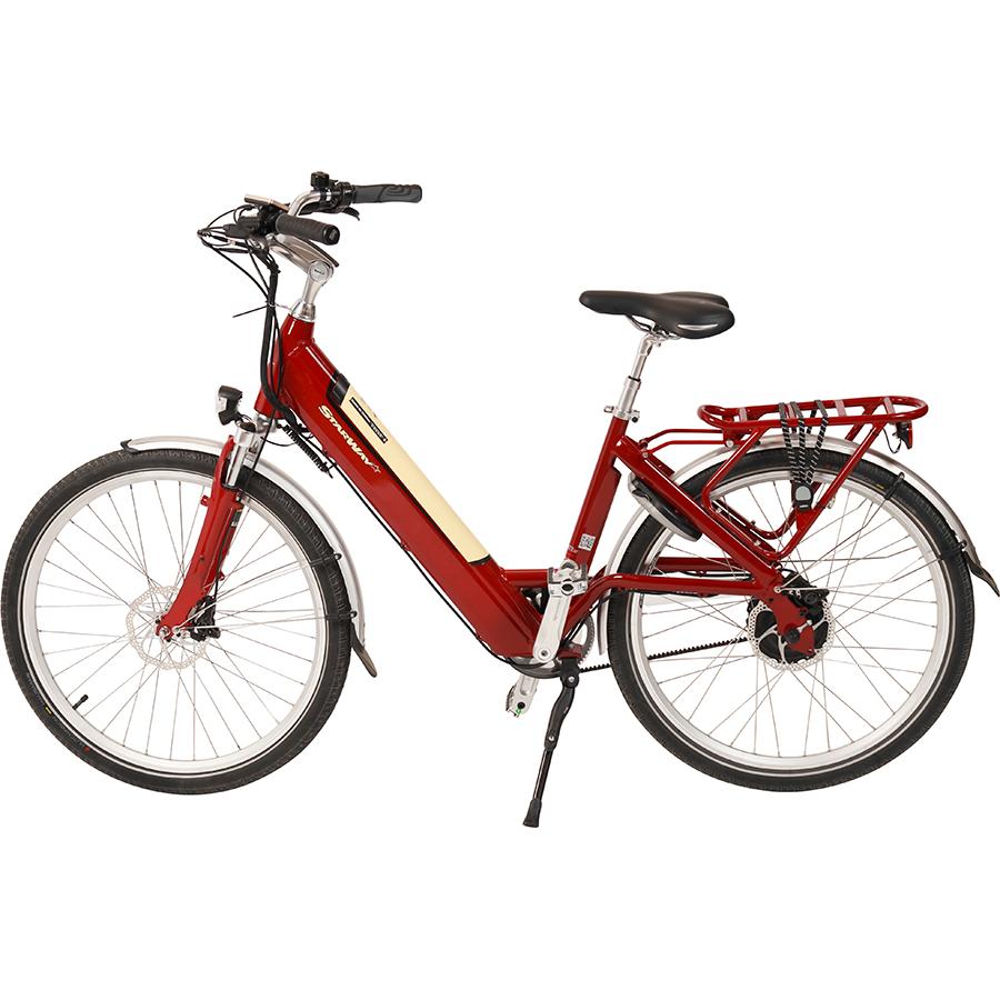 Starway Urban 26'' 14Ah 55Nm - Vélo en position parking