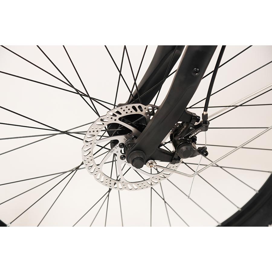 Vélobécane Easy + - Frein à disque mécanique à l'avant