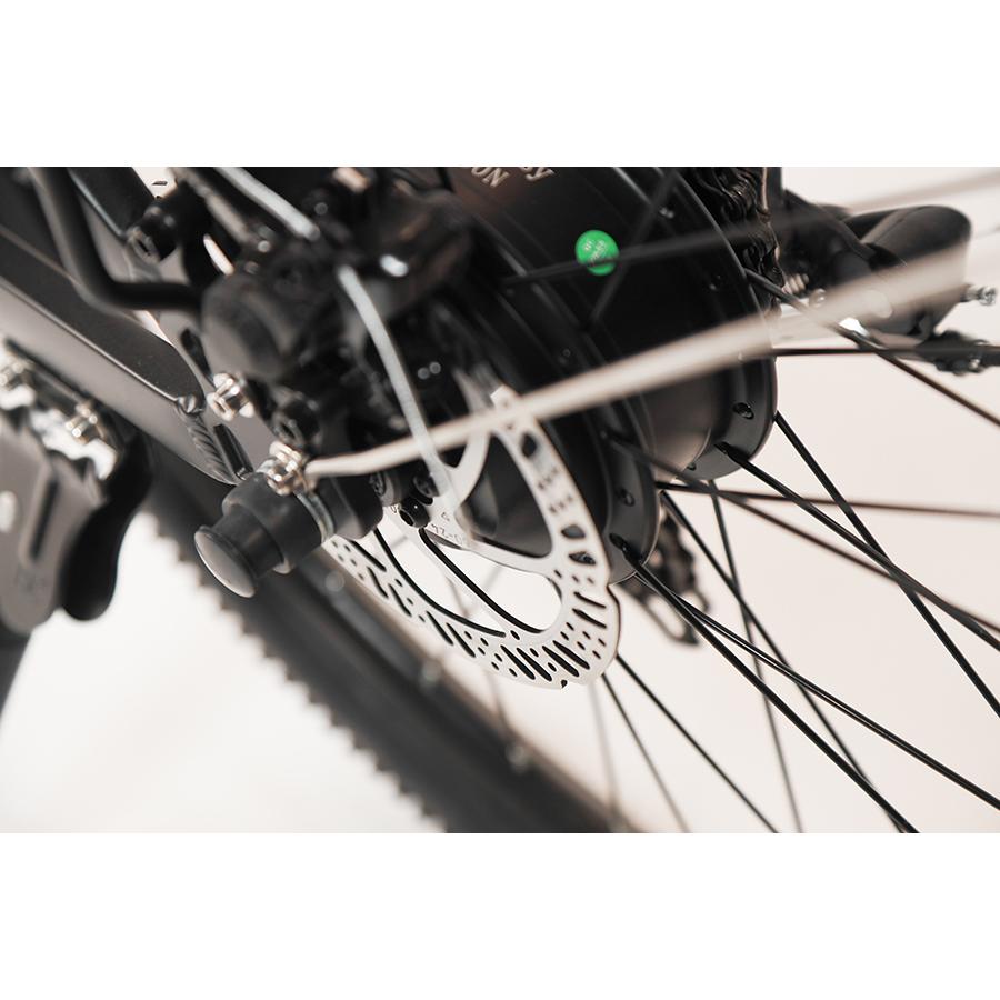 Vélobécane Easy + - Frein à disque mécanique à l'arrière