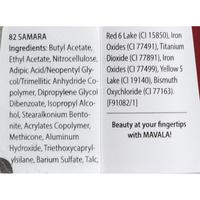 Mavala Vernis crème 82 Samara - Liste des ingrédients