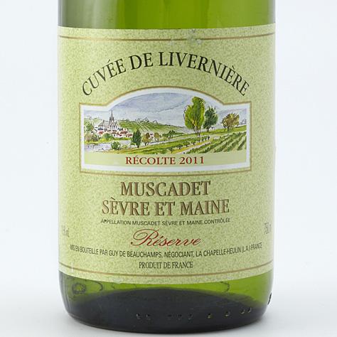 Cuvée de Livernière, Réserve 2011, Guy de Beauchamps  -