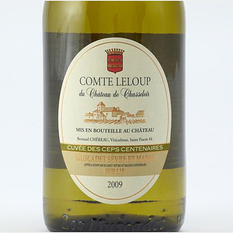 Comte Leloup du château de Chasseloir (cuvée des ceps centenaires) 2009  -