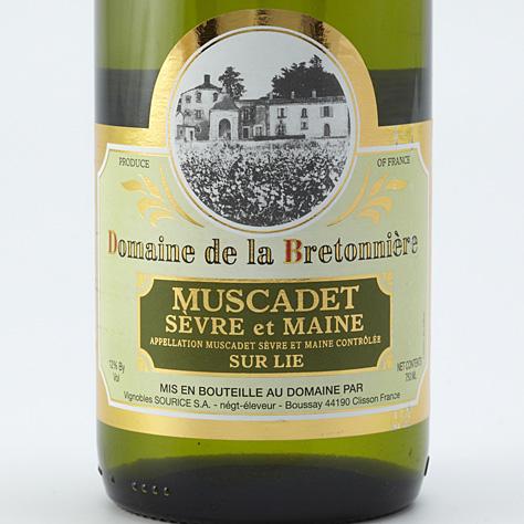 Domaine de La Bretonnière 2011, Vignoble Sourice  -