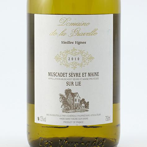Domaine de La Gravelle, vieilles vignes 2010  -