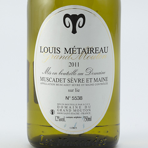 Louis Métaireau, Grand Mouton 2011  -