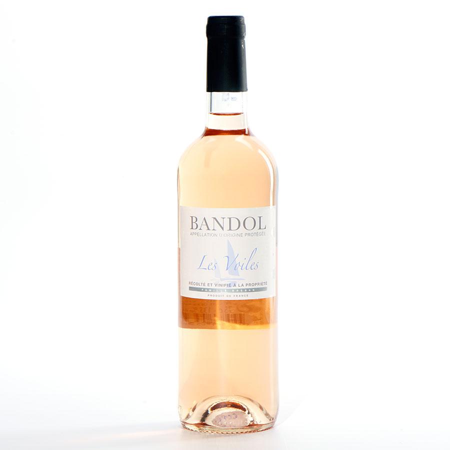 Bandol Les Voiles 2014, Les vins Bréban -