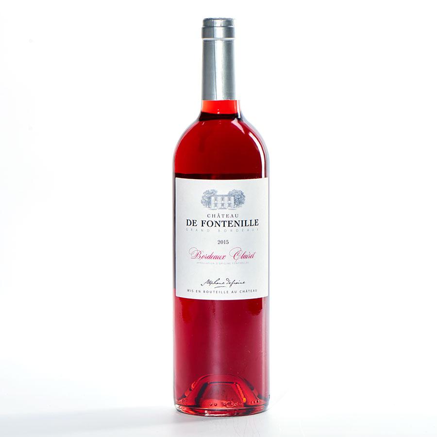 Bordeaux Château de Fontenille, Clairet 2015 -