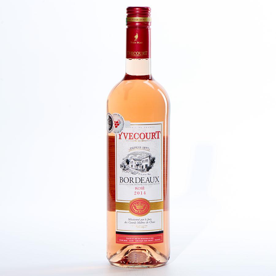 Bordeaux Rosé 2014, Yvecourt -