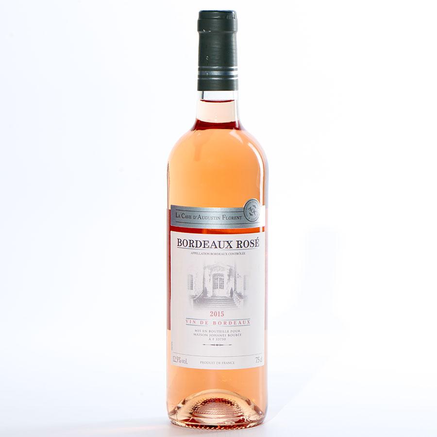 Bordeaux Rosé 2015, La cave d'Augustin Florent, Maison Johanès Boubée -