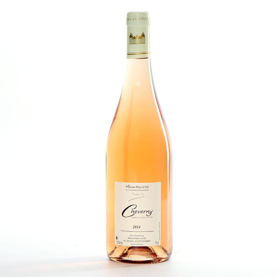 Cheverny Rosé 2014, Maison Père et Fils -