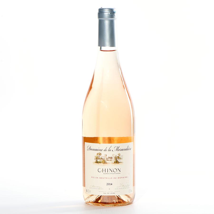 Chinon Rosé 2014, Domaine de La Morandière, Christophe Baudry et Jean-Marie Dutour -