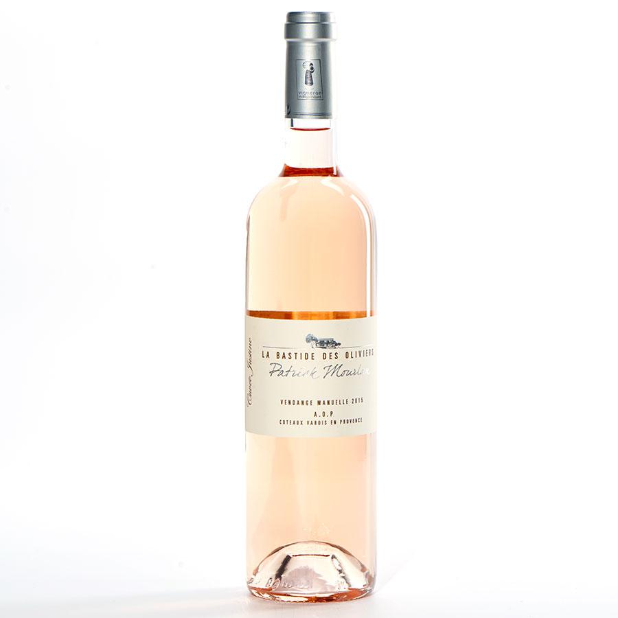 Coteaux-Varois Cuvée Justine 2015, LaBastide des oliviers, Patrick Moulan AB -