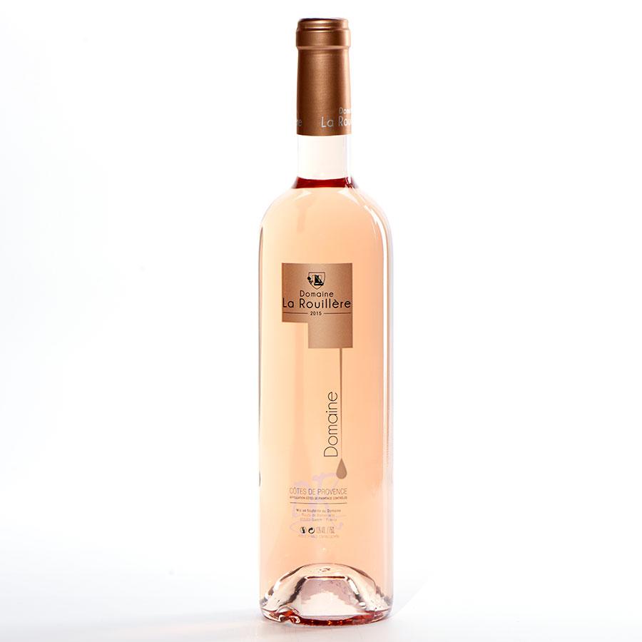 Côtes-de-Provence Cuvée DR 2015, Domaine La Rouillère -