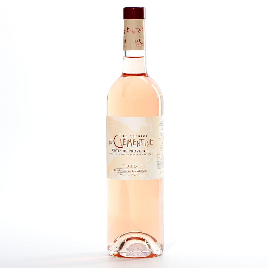 Côtes-de-Provence Le Caprice de Clémentine 2015, Les Valentines -