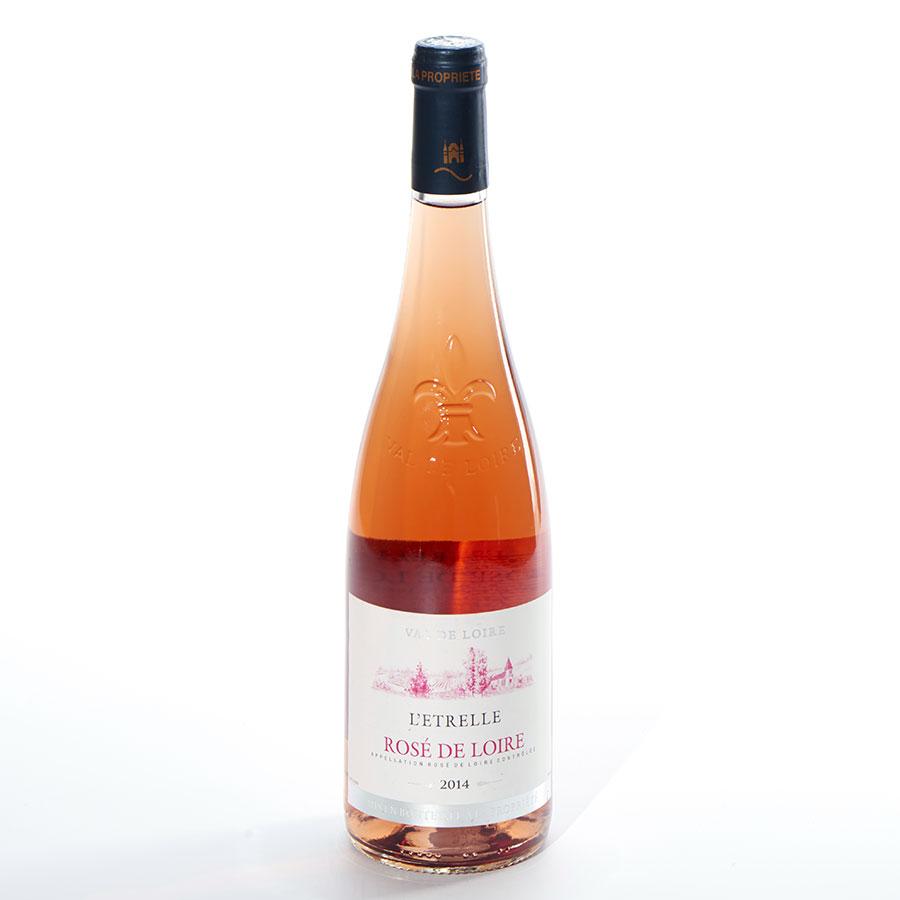 Rosé-de-Loire L'Étrelle 2014, EARL Brault J.-P. -