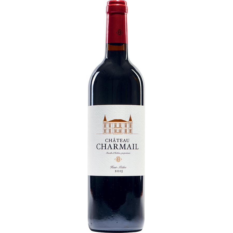 Château Charmail 2015 Haut-Médoc, cru bourgeois - Famille d'Halluin -