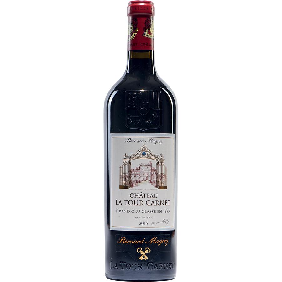 Château La Tour Carnet 2015 Haut-Médoc, cru classé 1855 - Bernard Magrez -