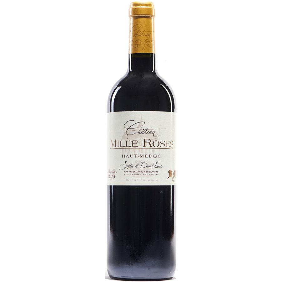 Château Mille Roses 2015 (AB) Haut-Médoc, Sophie et David Faure -