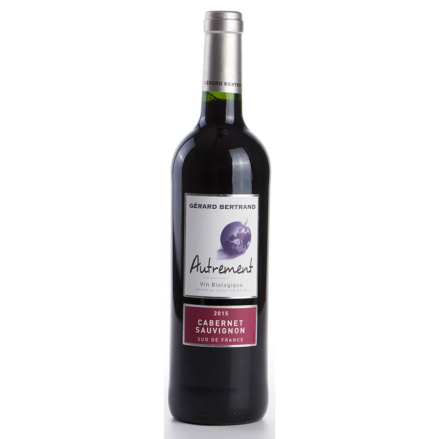 Vin de Pays-d'Oc Gérard Bertrand (AB), cabernet sauvignon, «Autrement» 2015  -