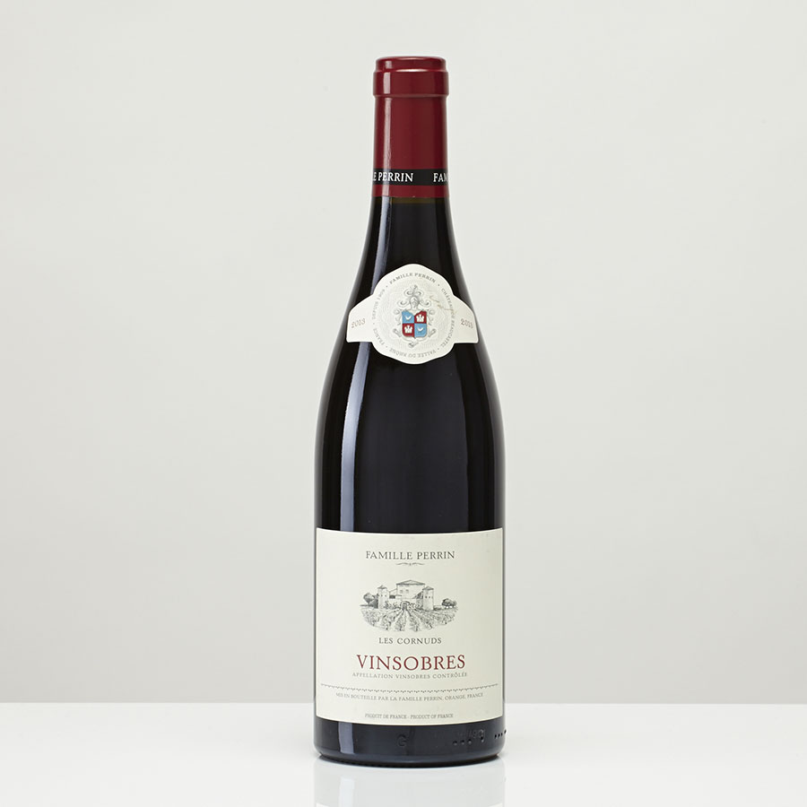Côtes-du-rhône Vinsobres Les Cornuds 2012, famille Perrin  -
