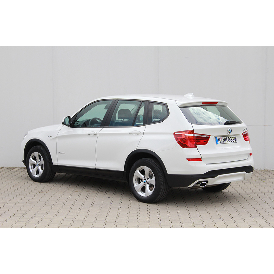 test bmw x3 xdrive20d steptronic a comparatif suv 4x4. Black Bedroom Furniture Sets. Home Design Ideas