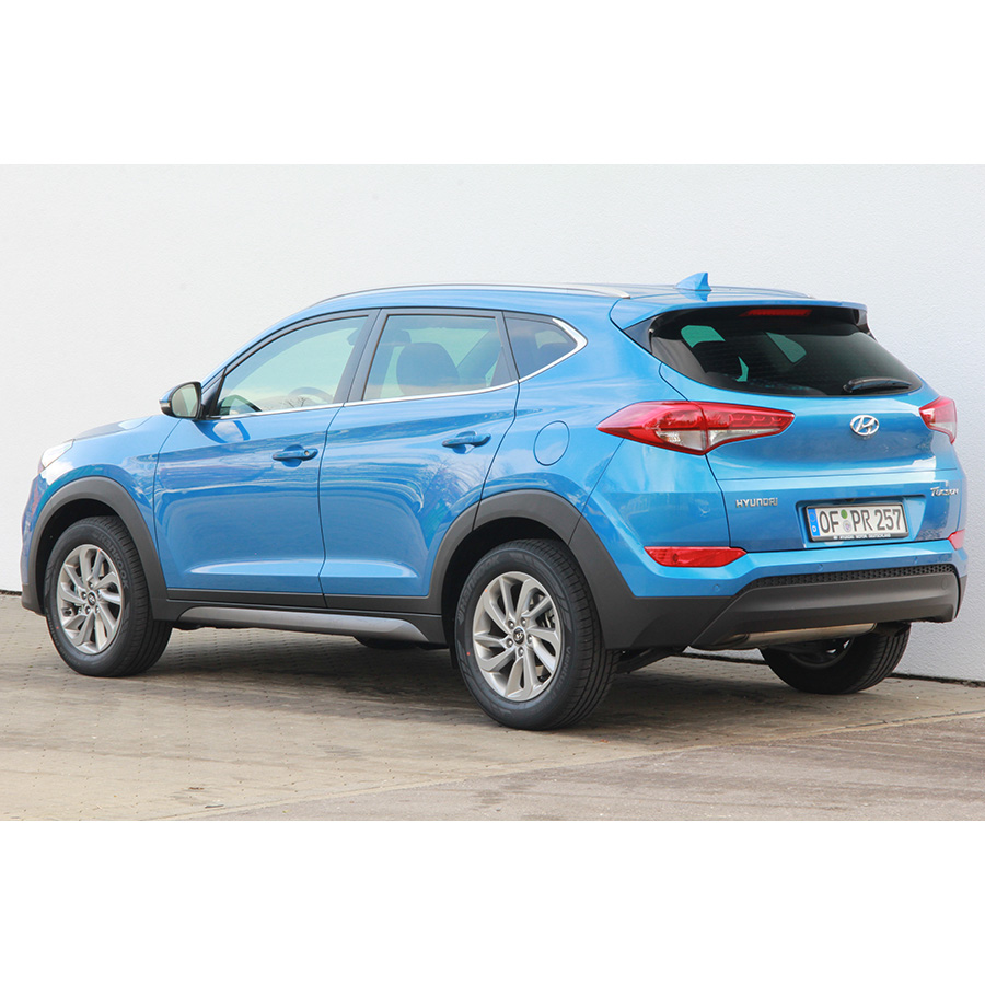 test hyundai tucson 1 7 crdi 115 2wd comparatif suv 4x4. Black Bedroom Furniture Sets. Home Design Ideas