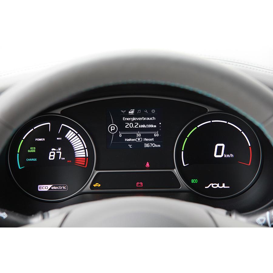 Kia Soul EV électrique -