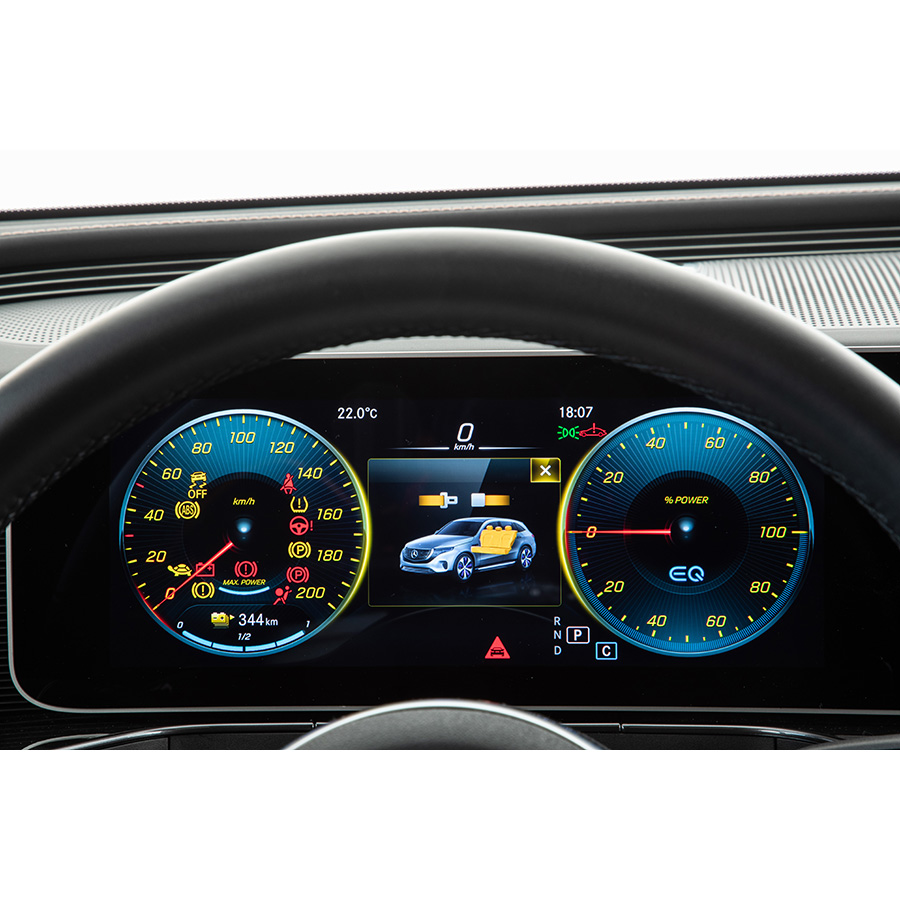 Mercedes EQC 400 4Matic 408 ch -